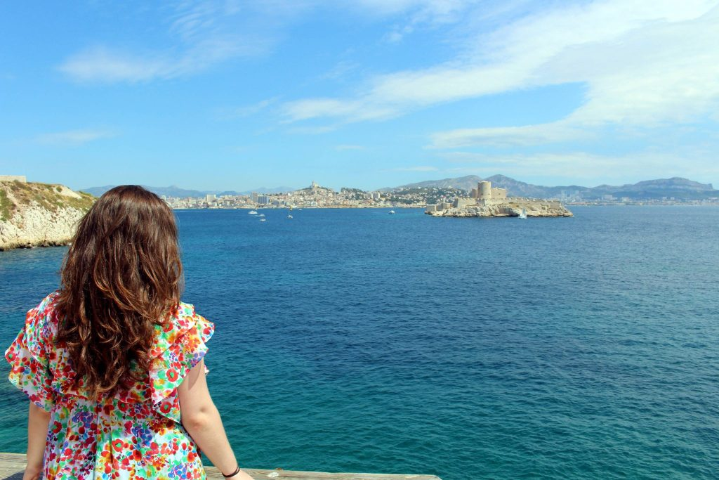 Ile de Frioul, looking out over Marseille and Chateau d'If