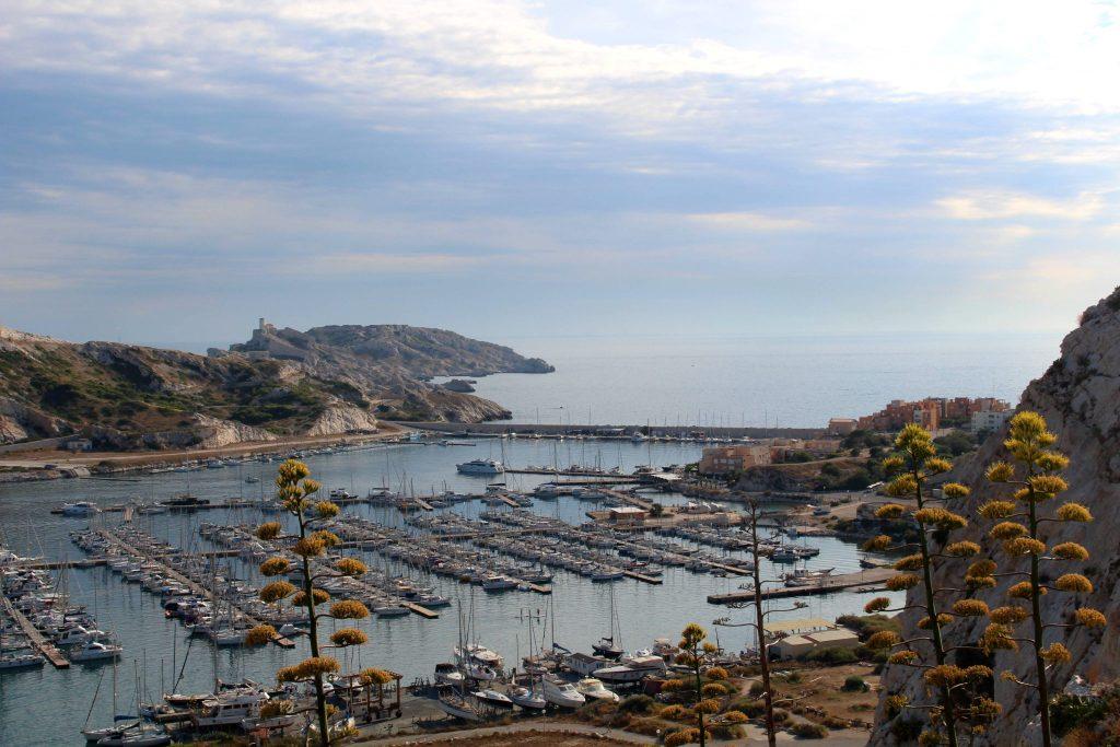 Ile de Frioul, view over port