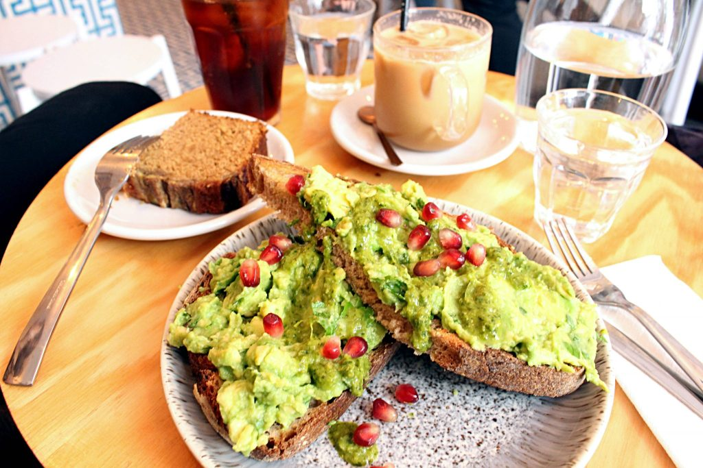Ob La Di Paris avocado toast