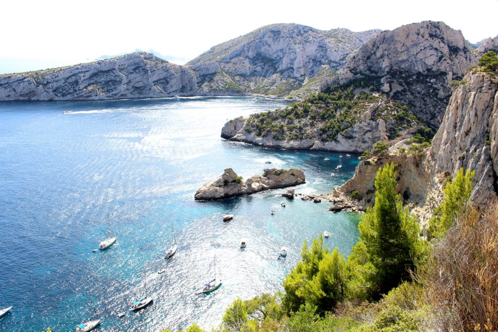 The Glittering Unknown, Calanques and Cassis, Calanque de Sugiton boat party