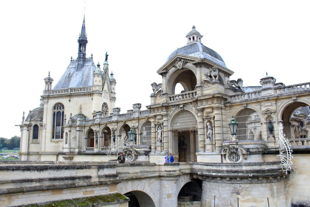 The Glittering Unknown Chantilly day trip chateau facade