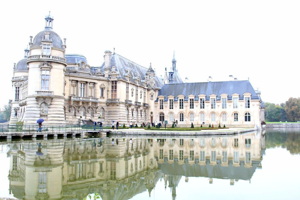 The Glittering Unknown Chantilly day trip reflection