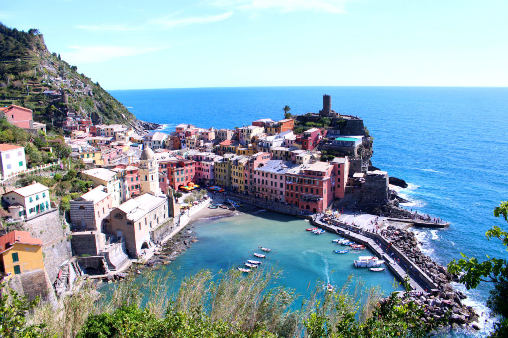 The Glittering Unknown Vernazza Cinque Terre Italy