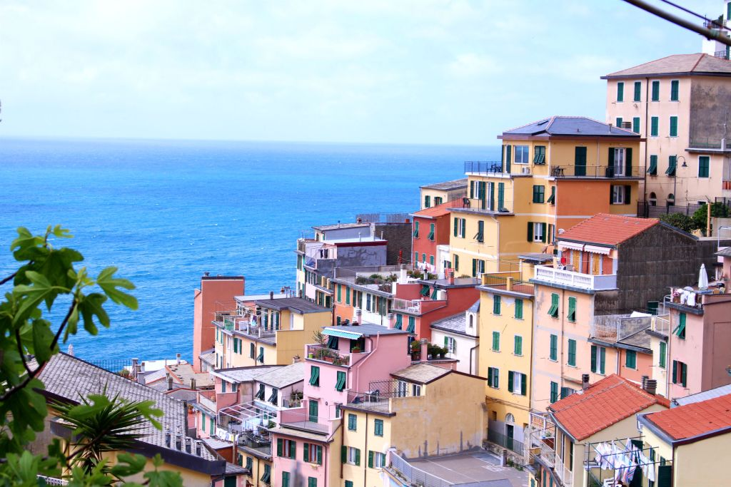 The Glittering Unknown colorful houses Riomaggiore Cinque Terre Italy