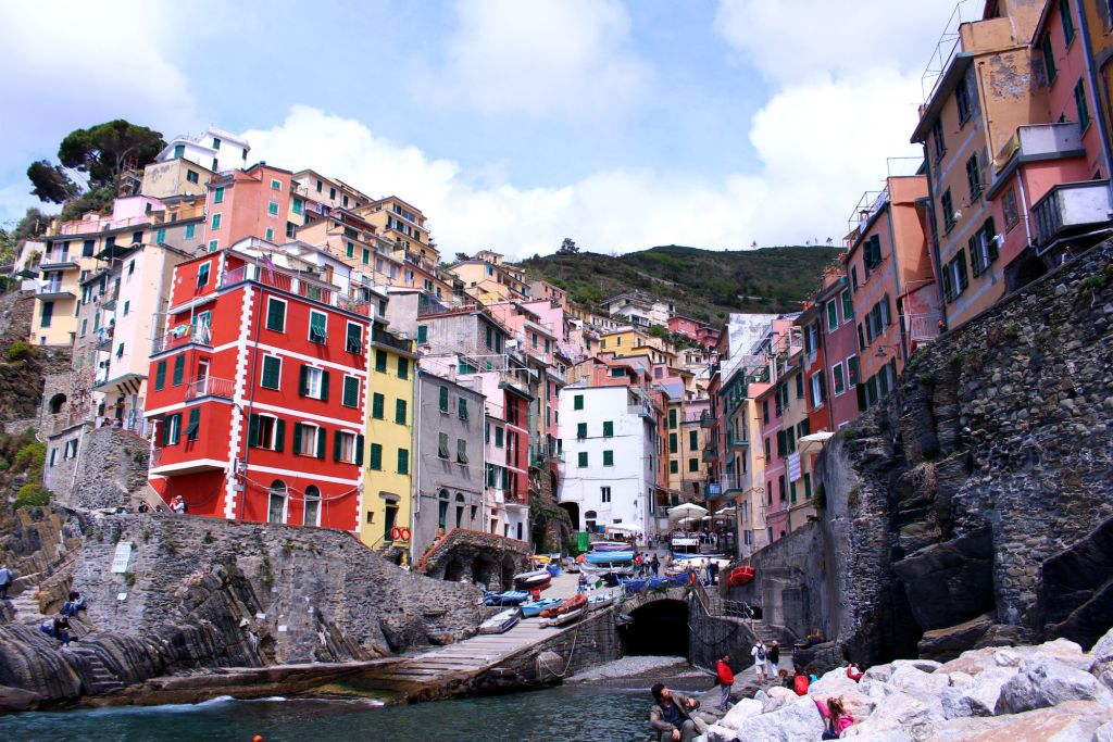 The Glittering Unknown marina view Riomaggiore Cinque Terre Italy