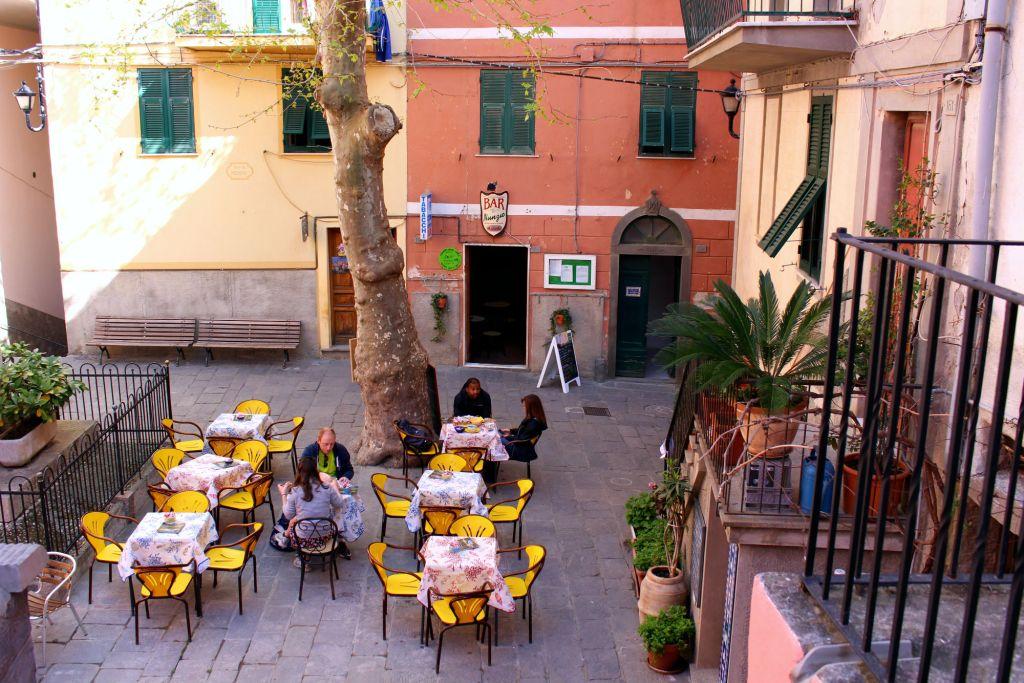 Corniglia Cinque Terre Italy town center The Glittering Unknown