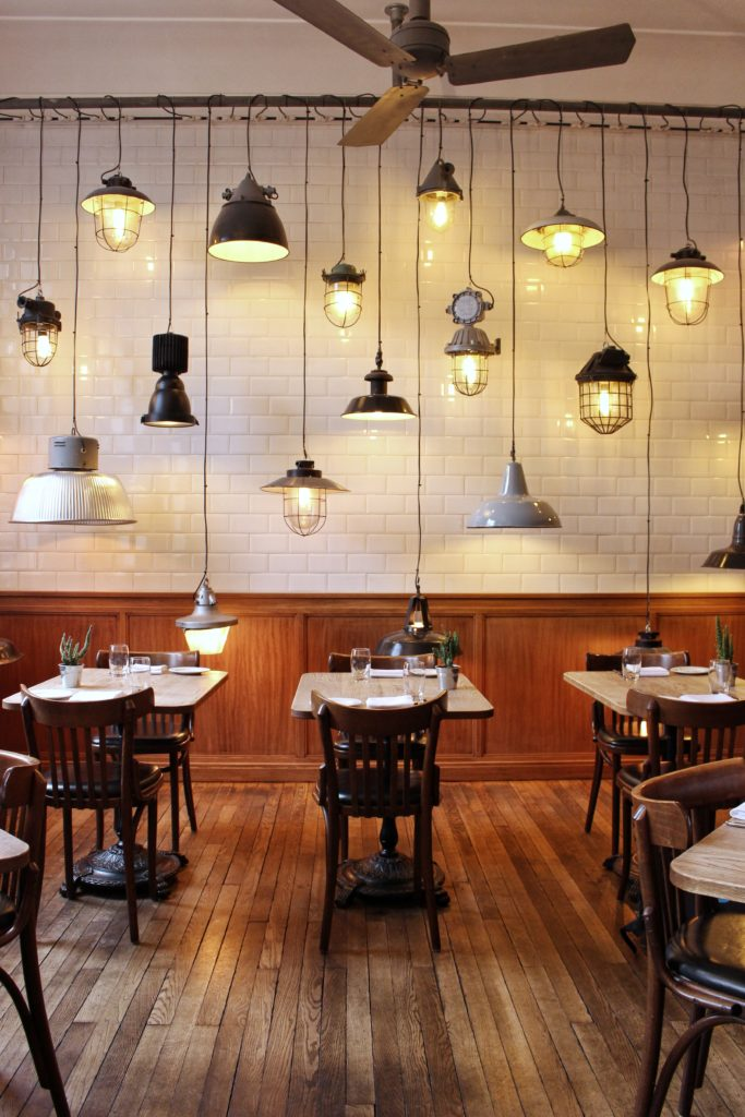 Corner Room restaurant, Day Trip London Paris