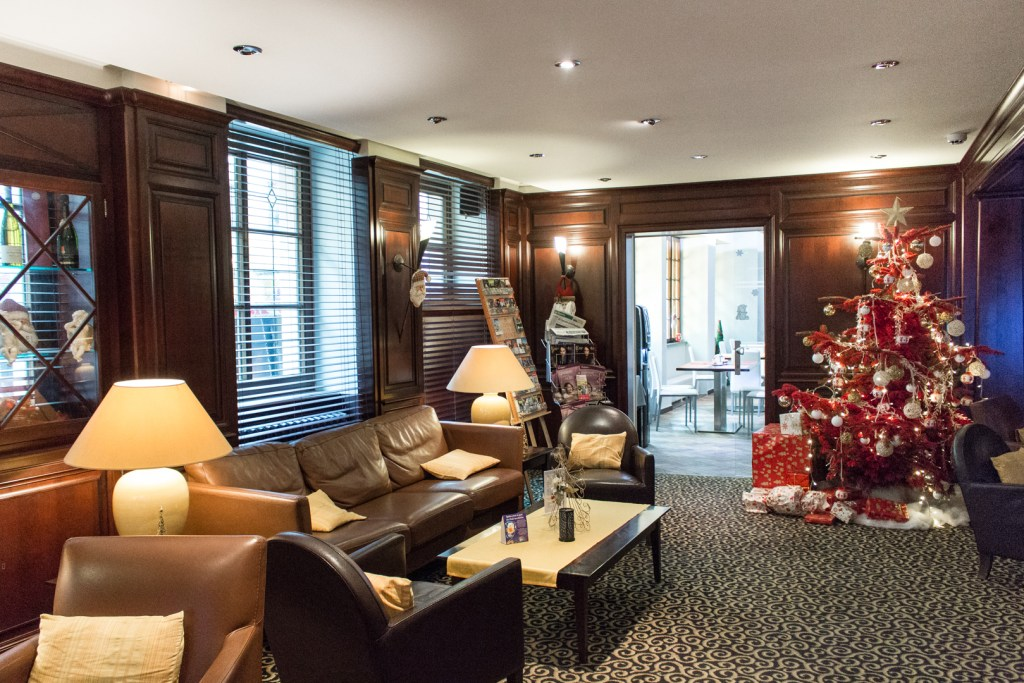 Best Western Hotel de l'Europe bar: A Christmas Getaway in Alsace (Strasbourg Christmas Markets)
