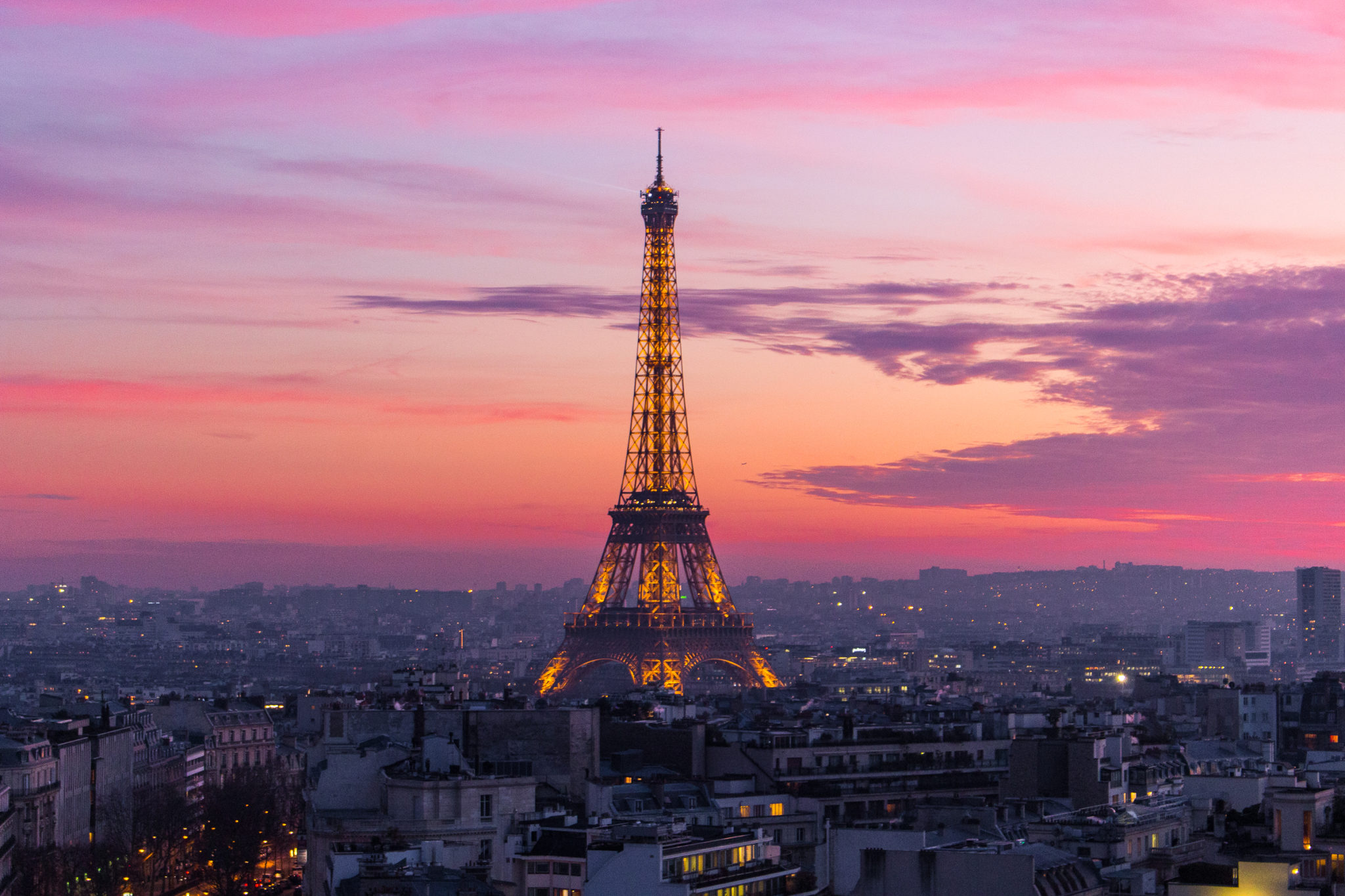 The 5 best sunset spots in paris the glittering unknown for Images of the best