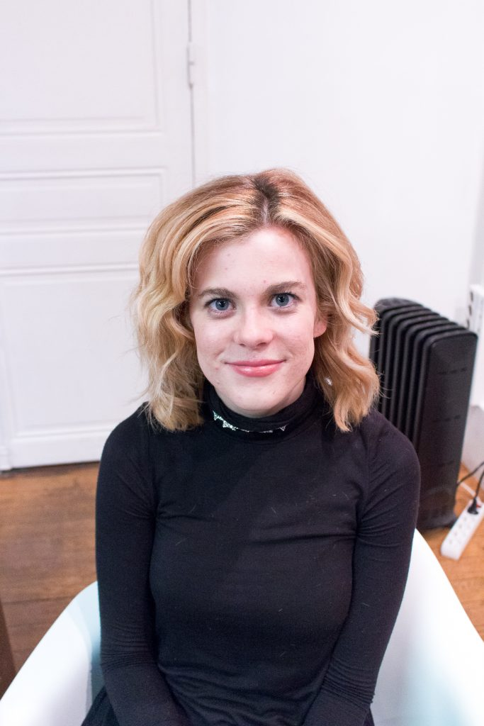 Kristina Wilde, after the cut and color, Studio Marisol- The Best English Speaking Hair Salon in Paris
