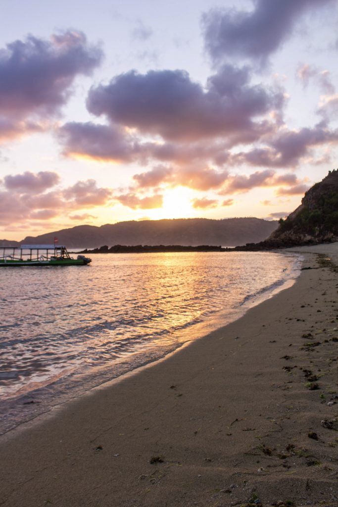 Sunset at Novotel Kuta Lombok, Indonesia- Why You Need to Visit Lombok, Indonesia NOW