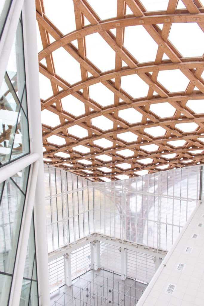 Roof of Centre Pompidou Metz- 7 Reasons to Visit Lorraine, France
