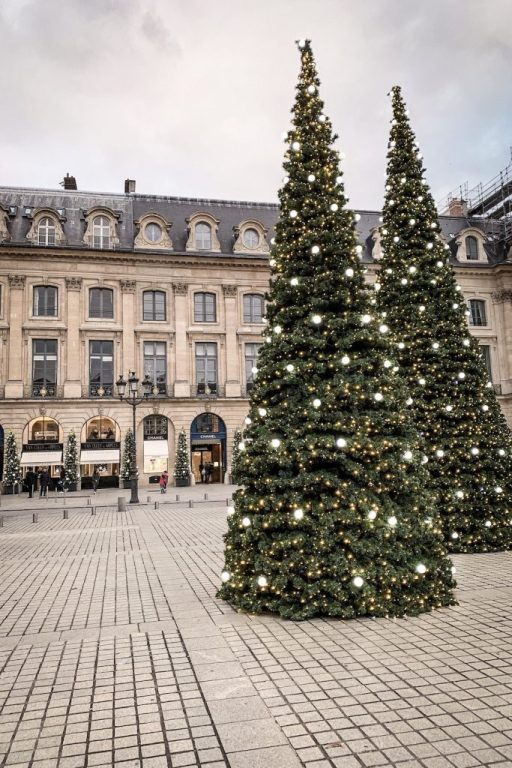 Christmas Decorations in Paris- Place Vendome