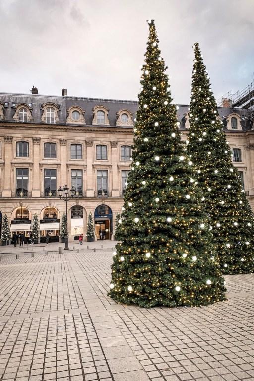 Christmas Decorations in Paris- Place Vendome