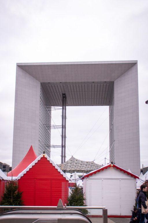 Where to Go Ice Skating in Paris- Grande Arche de la Défense