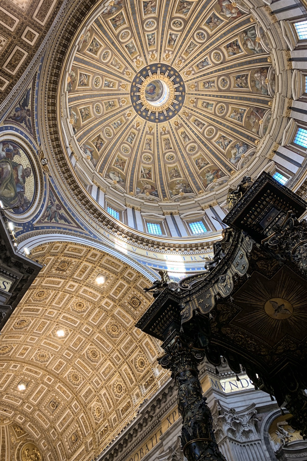 Ceiling of Saint Peter's Basilica, Vatican City