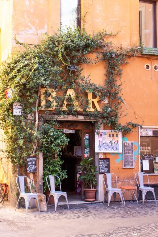 Bar del Cinque, Trastevere, Rome, Italy- - PHOTO DIARIES: ROME