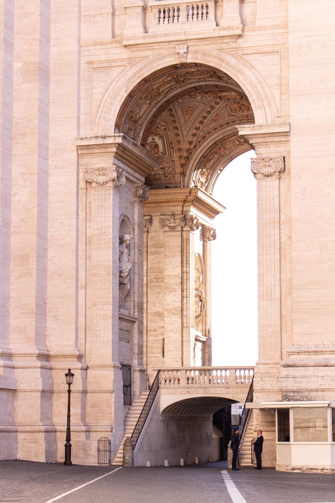 Light outside Saint Peter's Basilica, Vatican City- - PHOTO DIARIES: ROME