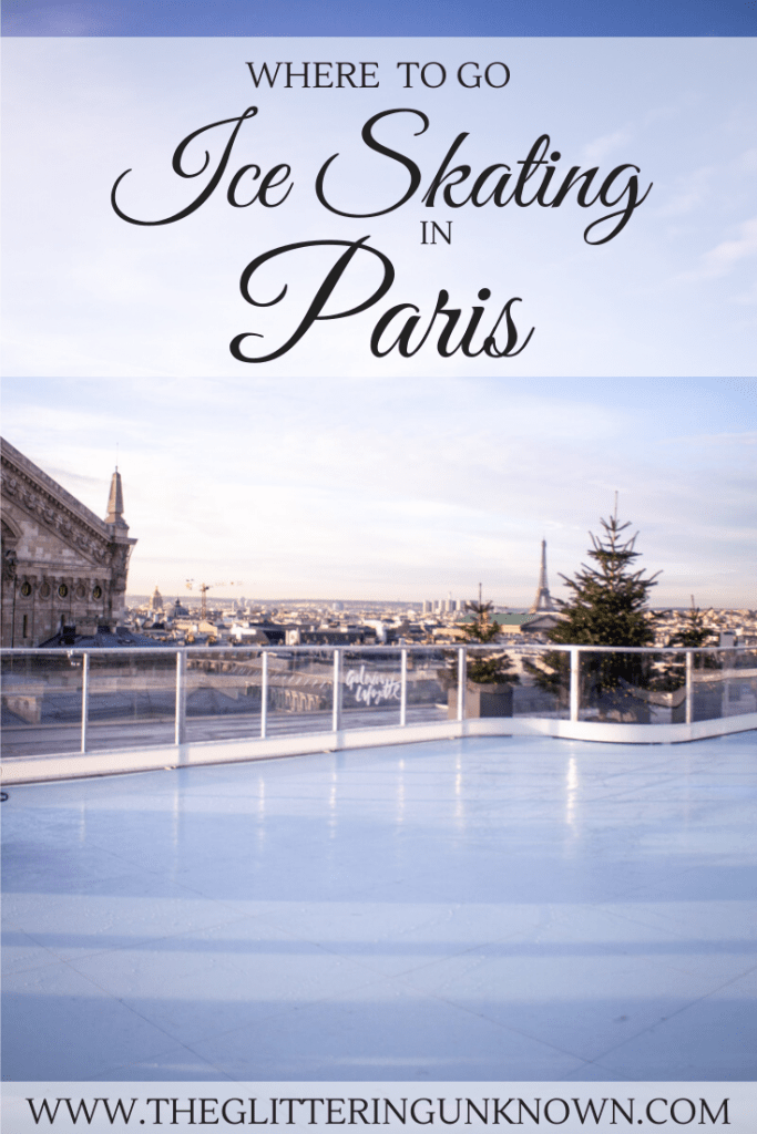 Where to Go Ice Skating in Paris by The Glittering Unknown