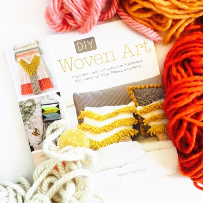 woven art, book, weaving, wall hanging, yarn art, Home decor with weaving, DIY, how to weave, how to make wall hangings,