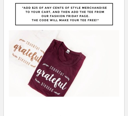 cents of style tee. Grateful tee shirt-fall fashions-my style-what I'm wearing