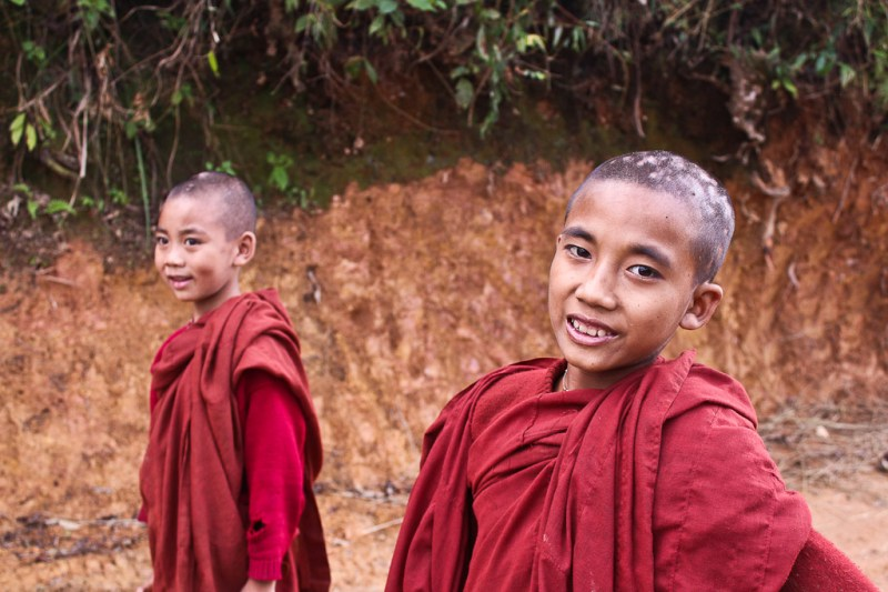 Child monks