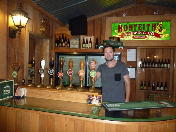 Shaun at Monteith's
