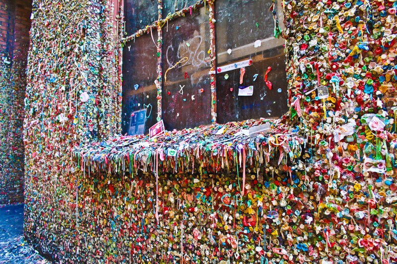 Gum wall, Pike Place Public Market