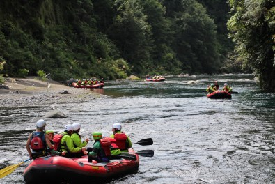 Whitewater rafting New Zealand