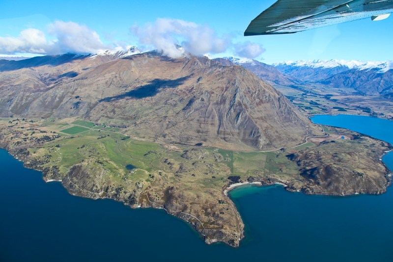 new zealand scenic flight
