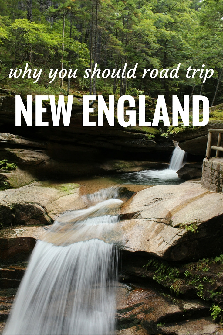 New England is a gorgeous, quaint part of the USA. There's so much to do there - eating, hiking, whale watching, camping and more. Go and do a road trip!