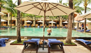 When on your honeymoon you have to splurge somewhere. For us, it was the Hoi An Anantara Resort in Vietnam - and what a great choice it was!
