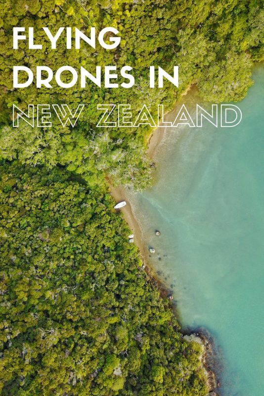 New Zealand has some spectacular landscapes, so what better way to photograph them than from the air with a drone!