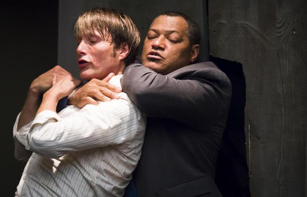 Hannibal season 2 JackHannibal fight scene confirmed