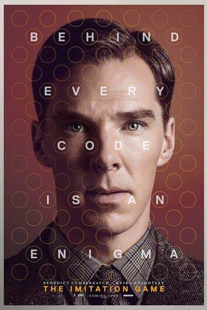 The Imitation Game - Behind Every Code is an Enigma - Benedict Cumberbatch poster