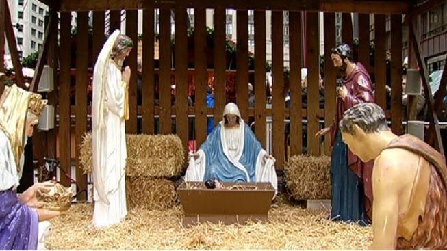 Image result for menominee mi nativity
