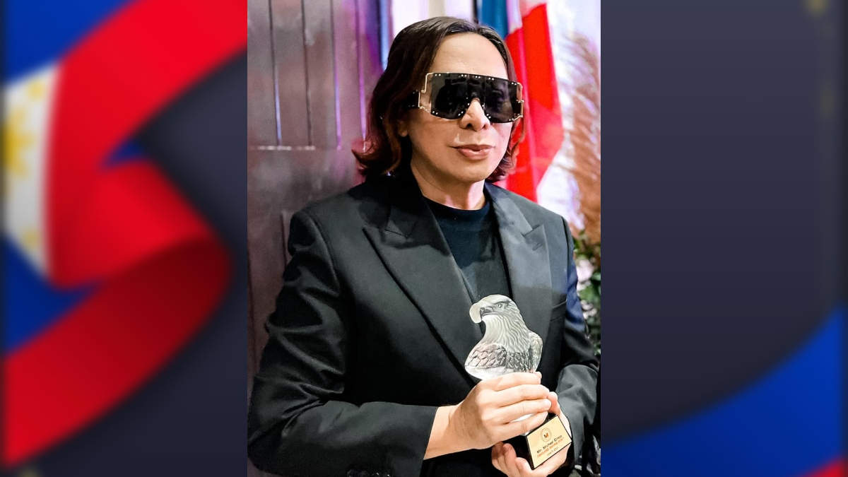 Michael Cinco emerged as one of 2021 Dakilang Bayani Awardees