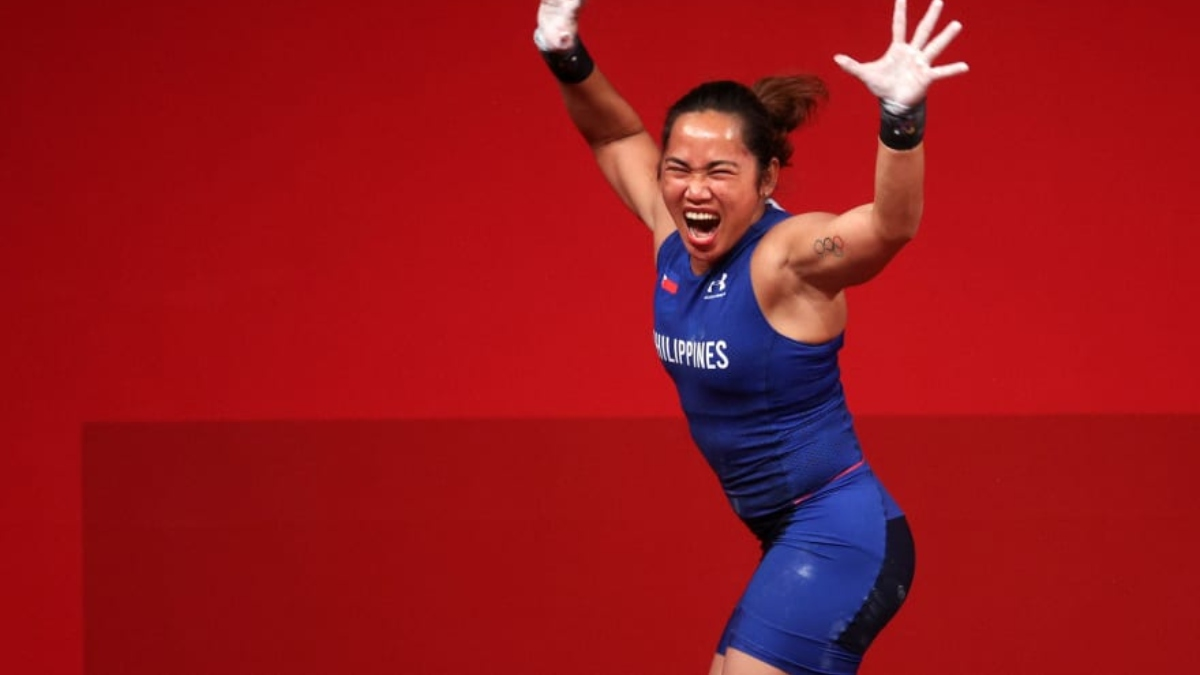 Philippine's first-ever gold medalist is a woman