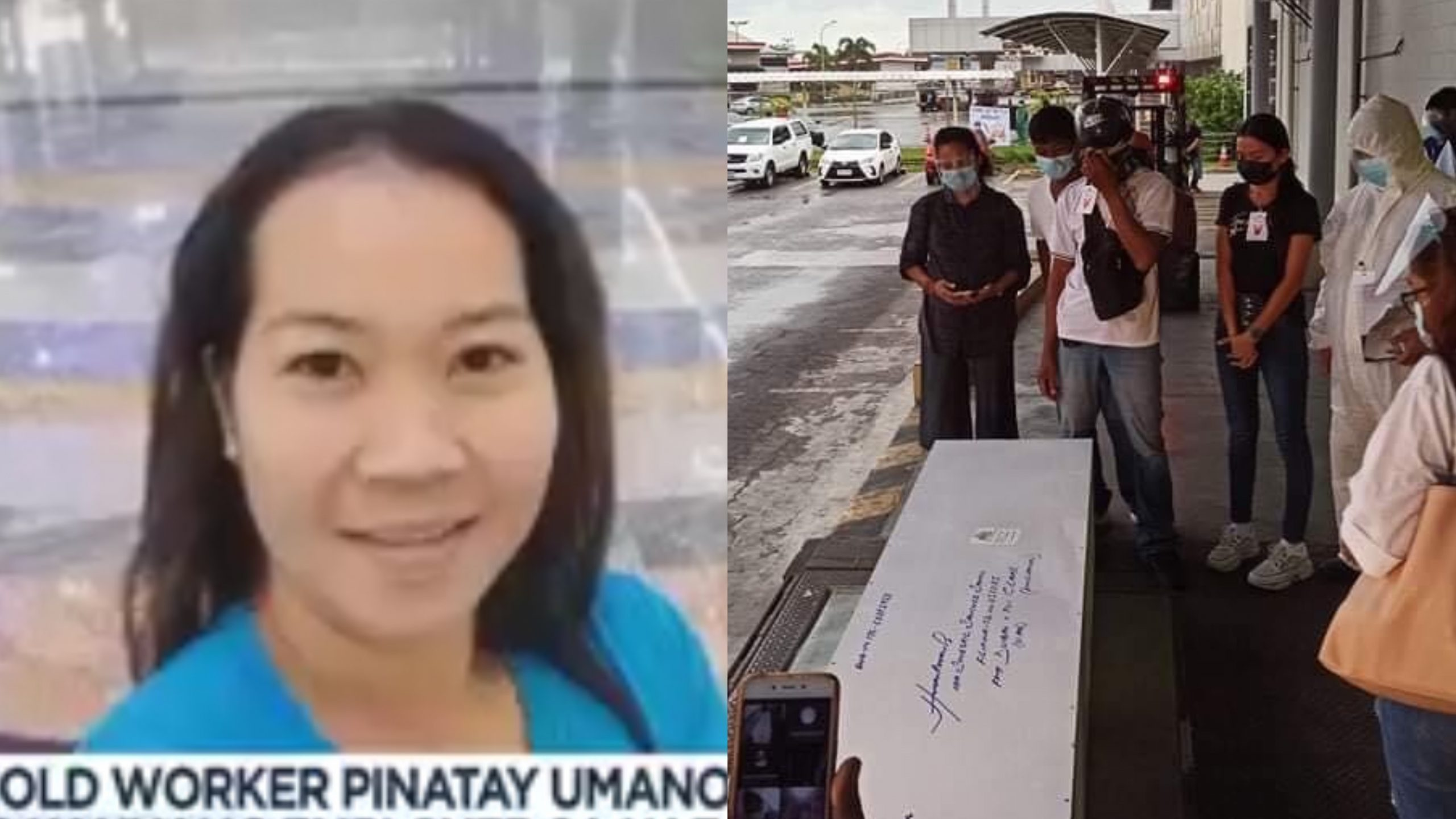 Remains of OFW killed by employer in UAE arrived in Philippines