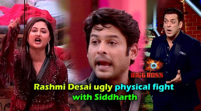 Rashmi and Siddharth Shukla's serious fights