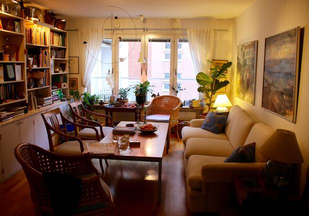 apartment size kitchen table diy island with seating why author margareta magnusson wants you to start 'death ...