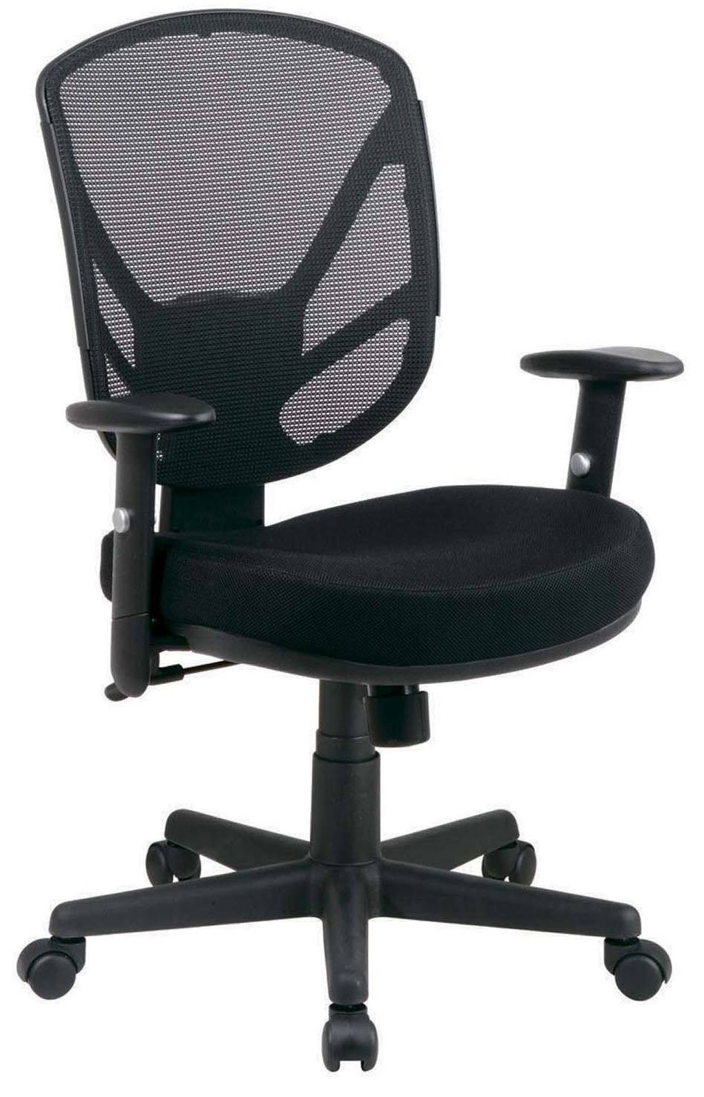staples task chair canada desk dinosaur three office chairs that will make you want to work the globe and mail mesh offers adjustable seat arm rests centre tilt movement