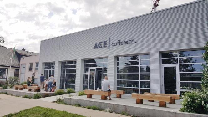 Ace Coffee Roasters in Edmonton