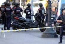 barcelona attack car attack police