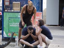 barcelona car van terrorism attack
