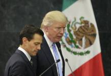 Candidate Donald J. Trump met with Mexican President Enrique Pena Nieto before he was elected.