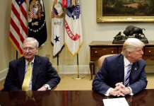 feud, trump. senate, majority leader, mcconnell