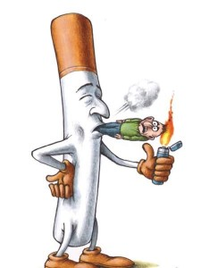 Cigarette Smoking A Human