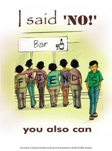 Say no to Negative Peer pressure