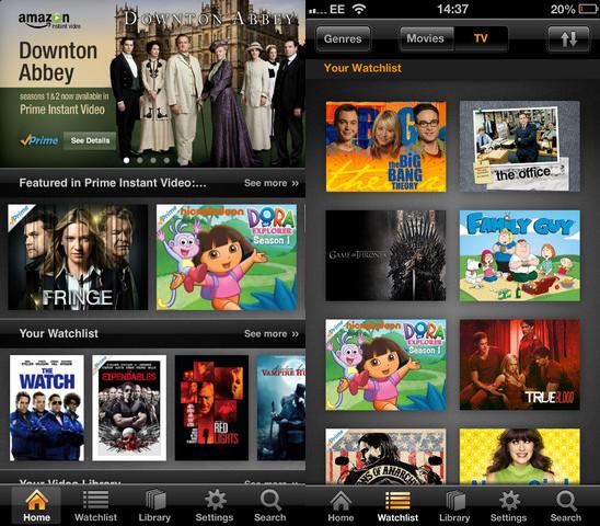 amazon instant video app